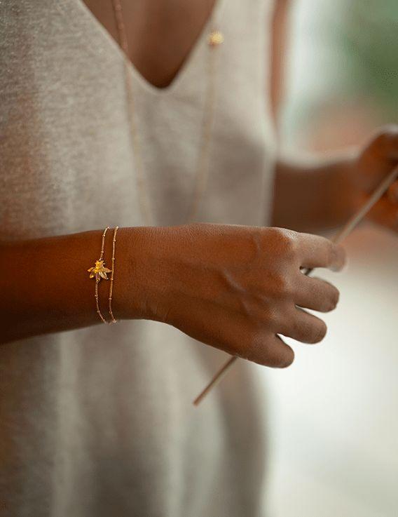 Bracelet double - Collection Maracudja - La Divini © Christine Picard