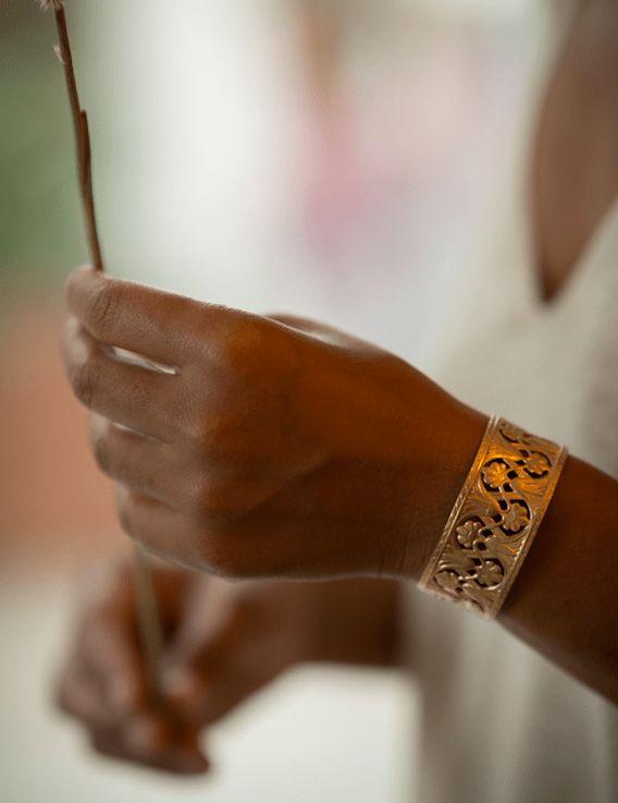 Bracelet Manchette - Collection Maracudja - La Divini © Christine Picard