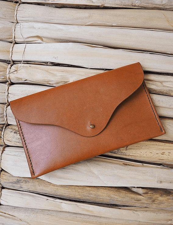 Pochette en cuir Mia - Haïti Design Co