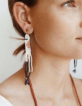 Boucles d'oreille Horizon - Haiti Design Co