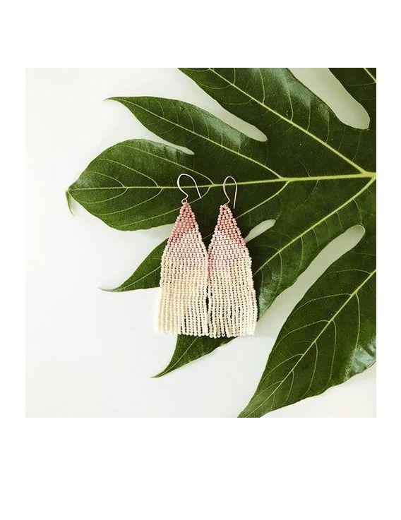 Boucles d'Oreille pendantes - Gradient  - Haiti Design And Co
