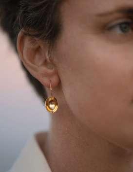 Boucles d'oreille Coui © Cécile Chabert