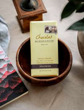 Chocolat Blanc 34% au Caviar de Vanille - Chocolaterie Robert @ Christine Picard