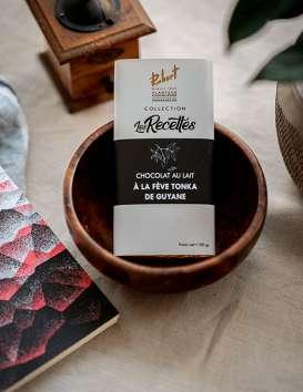 Chocolat au lait à la Fève Tonka de Guyane  La chocolaterie Robert © Christine Picard