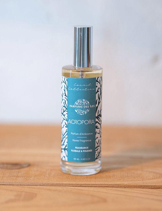 Parfum d'Ambiance Acropora - Corail Collection - Parfum des Iles 100 ml