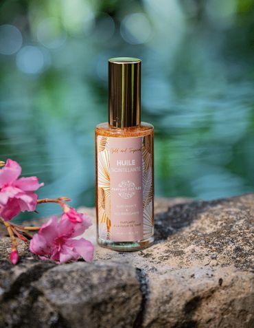 Huile scintillante 50 ml - Parfum des Iles