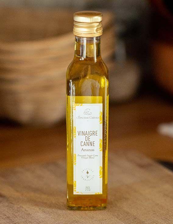 Vinaigre de Canne à Sucre de Guadeloupe à l'Ananas - 100 ml L'Epicerie Creole © Christine Picard