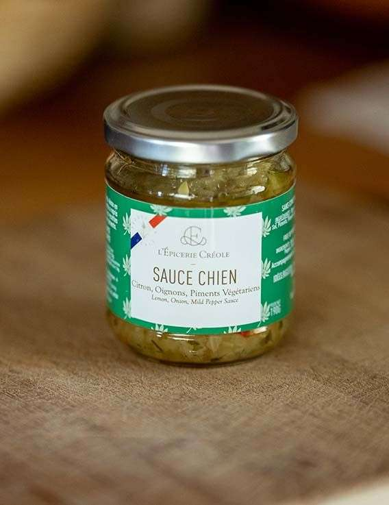 Sauce Chien de Guadeloupe - 190 gr L'Epicerie Creole © Christine Picard