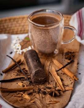 KAKO, Le bâton de Cacao Pur des Montagnes de Guadeloupe 100 gr © Christine Picard