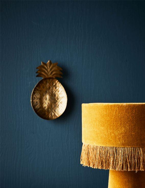 Plateau ananas Madam Stoltz - doré © Madam Stoltz