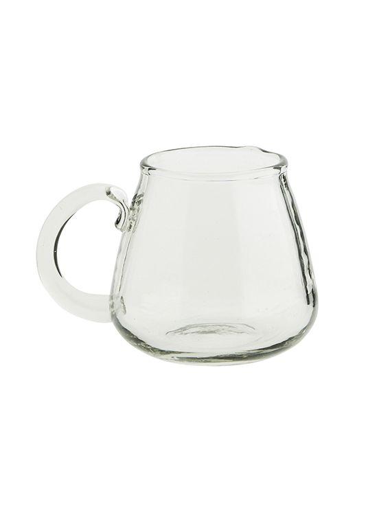 Mug en verre- transparent neutre