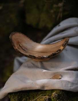 Vide poche en bois de Sapotille - D. Grandisson